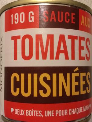 Sauce aux tomates cuisinées - Produit - fr