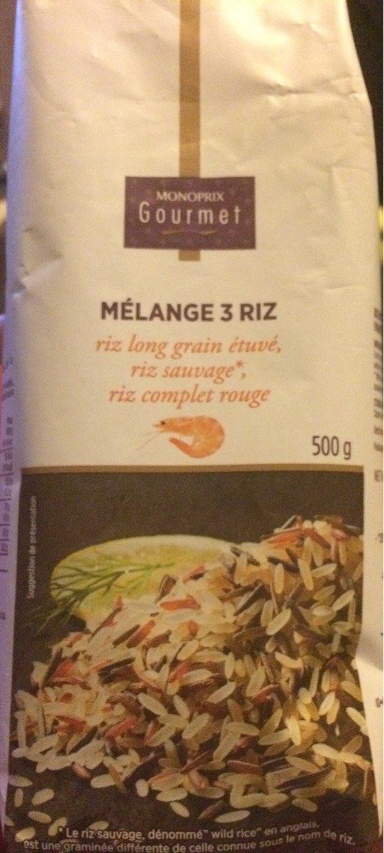 Mélange savoureux 3 riz - Product