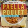 Paella au poulet et fruits de mer - Produit