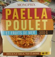 Paella au poulet et fruits de mer - Produit - fr