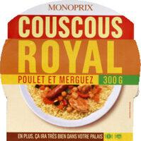 Couscous Royal au poulet et merguez - Produit - fr