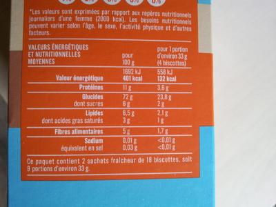 Biscottes très pauvres en sel - 2