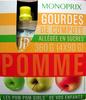 Gourdes de compote de pomme Monoprix - Produit