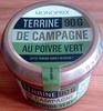 Terrine de campagne au poivre vert - Produit