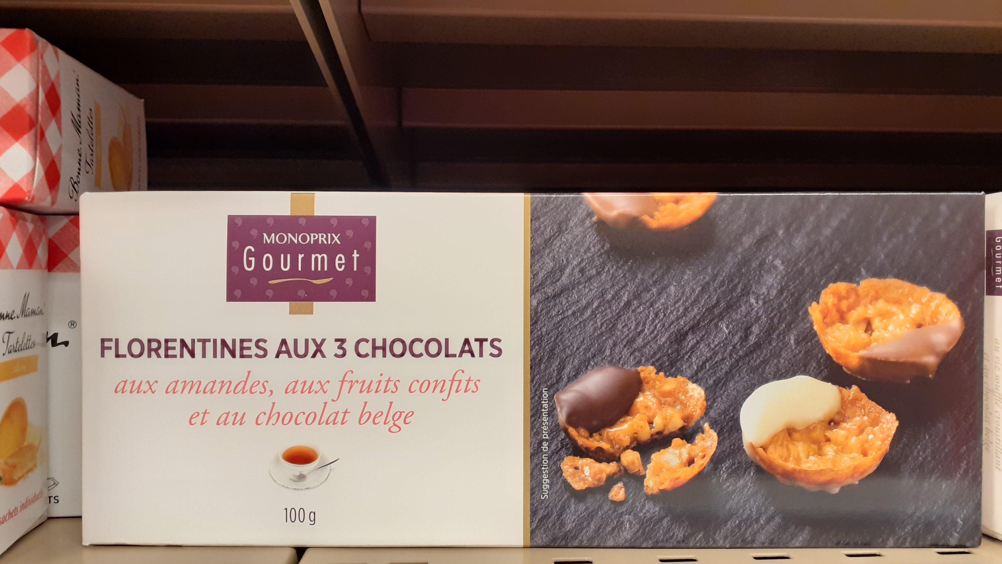 Florentine aux 3 chocolats - Produit - fr