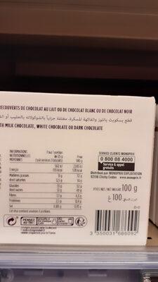 Florentine aux 3 chocolats - Informations nutritionnelles - fr
