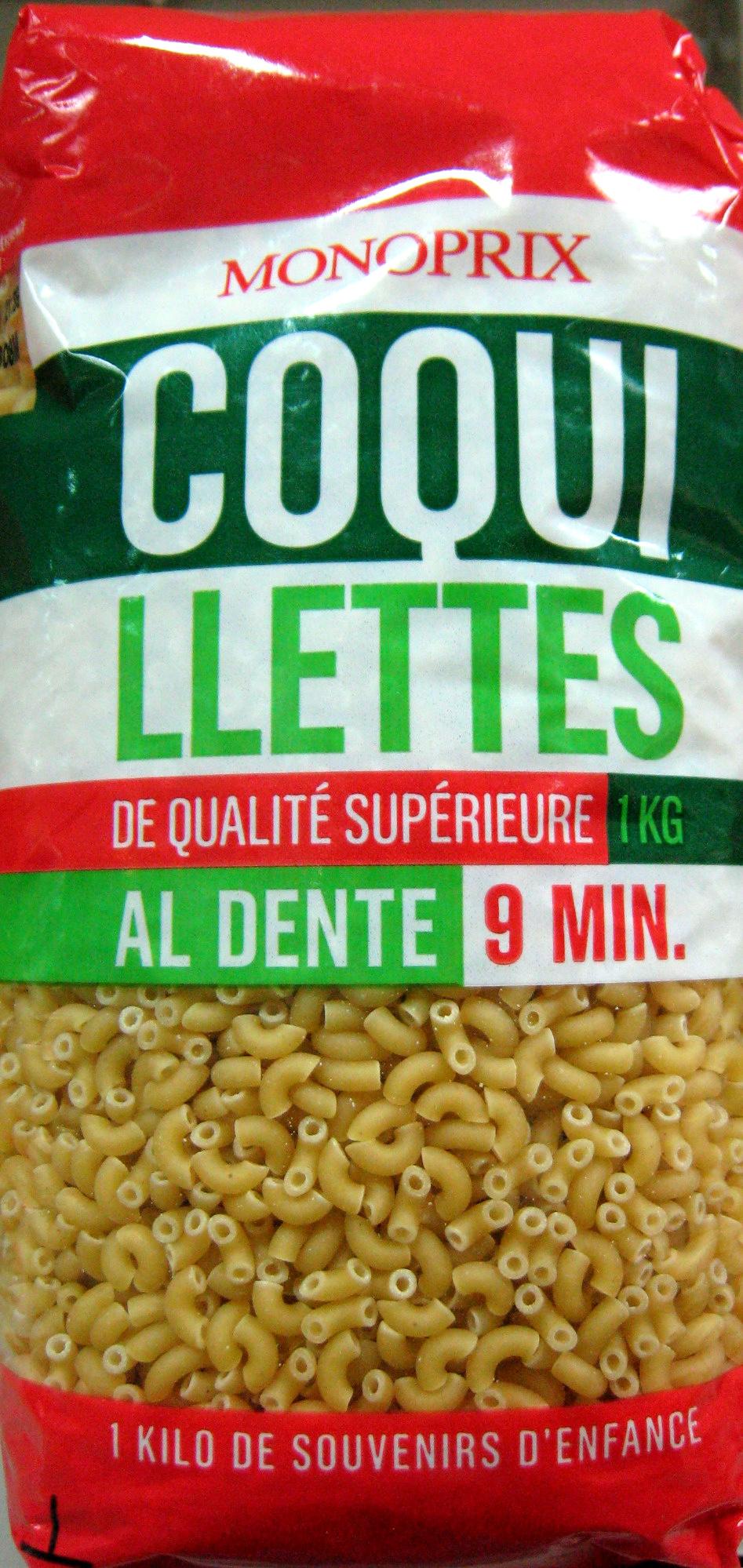 Coquillettes (Al dente 9 min.) - Produit - fr