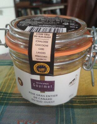 Foie gras entier de canard du sud ouest - Product