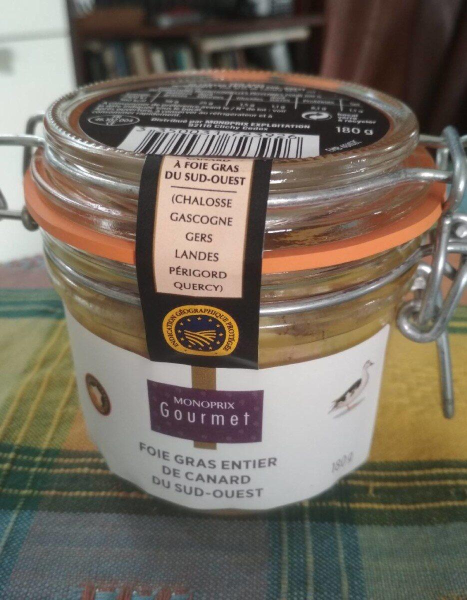 Foie gras entier de canard du sud ouest - Produit - fr