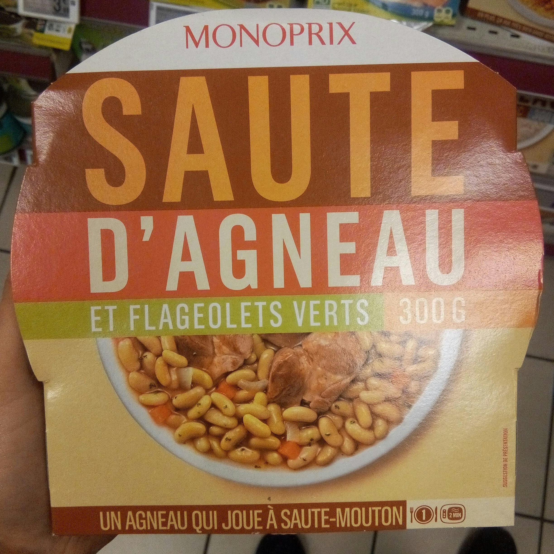 Sauté d'agneau et flageolets verts - Produit - fr