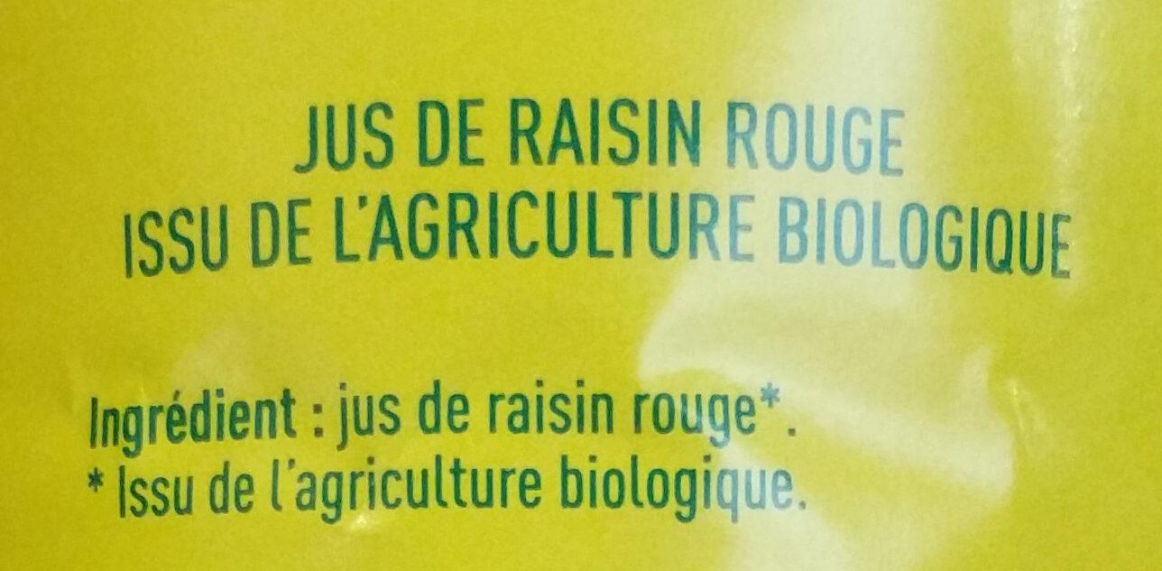 100% pur jus de raisin - Ingredienti - fr
