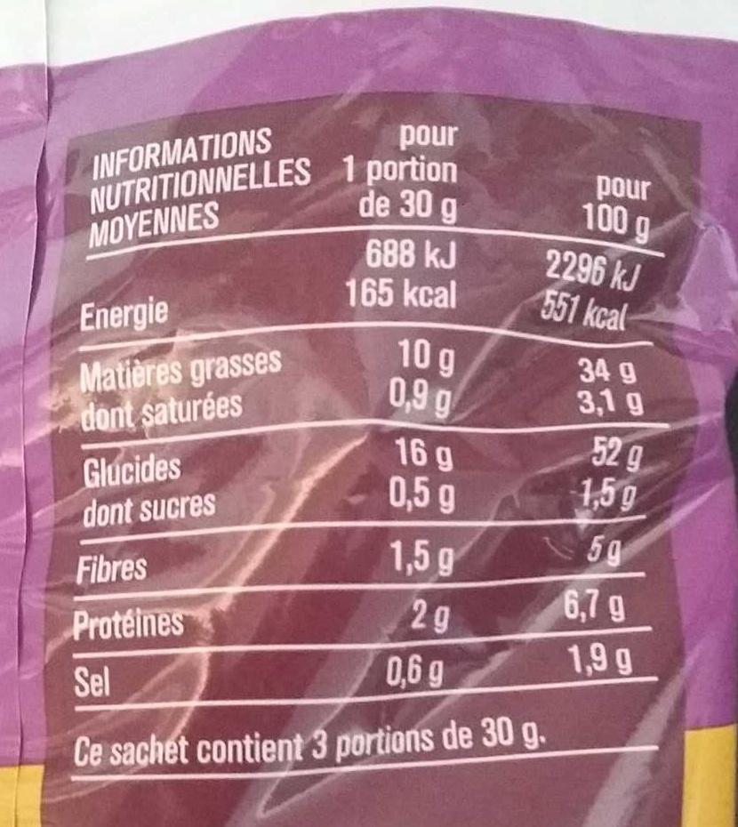 Chips saveur vinaigre balsamique monoprix 90 g - Vinaigre balsamique calorie ...