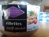 rillettes 100% canard - Produit
