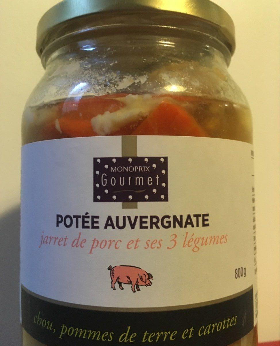 Potée auvergnate jarret de porc et ses 3 légumes - Produit - fr