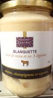 Blanquette sauté de veau et ses 3 légumes - Produit