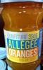 Confiture Oranges Allégée en sucres - Product