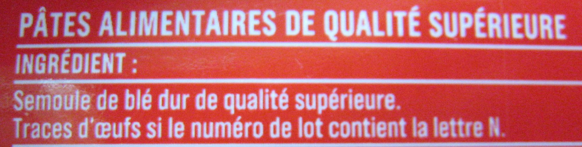 Spaghetti (Al dente 7min.) - Ingredients - fr