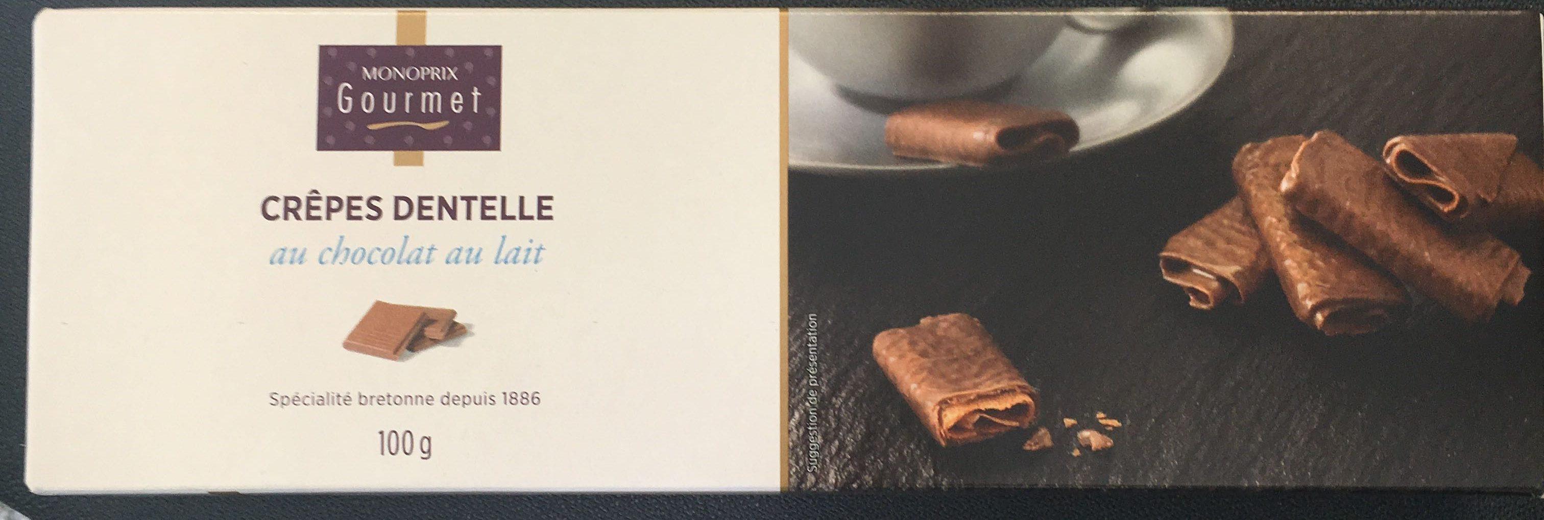 Crêpes dentelle au chocolat au lait - Product