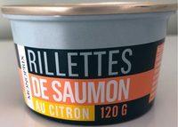 Rillettes de saumon au citron - Produit - fr