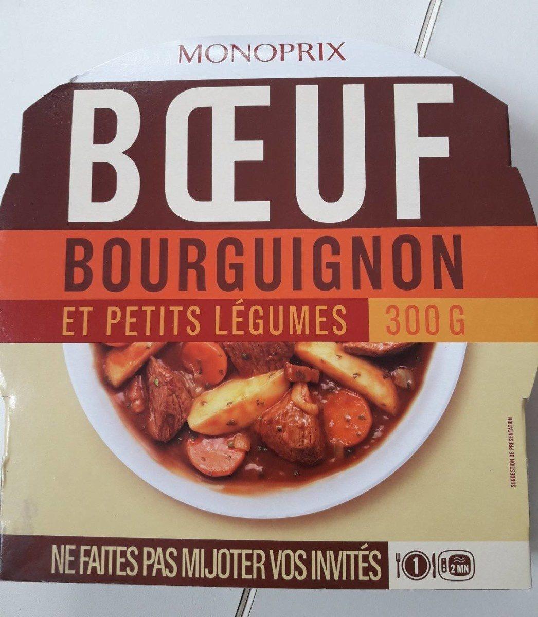 Bœuf Bourguignon, Pommes de Terre et Petits Légumes - Produit - fr