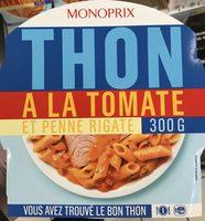 Thon à la Tomate et Penne Rigate - Produit - fr