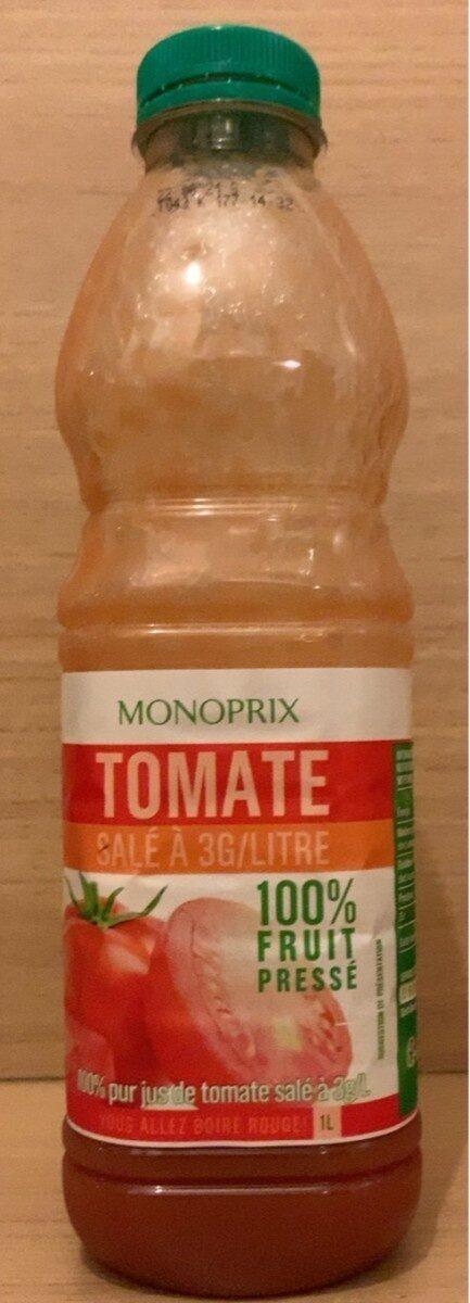 100 % Pur Jus Tomate - Produit - fr