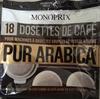 Dosettes de café pur arabica - Product
