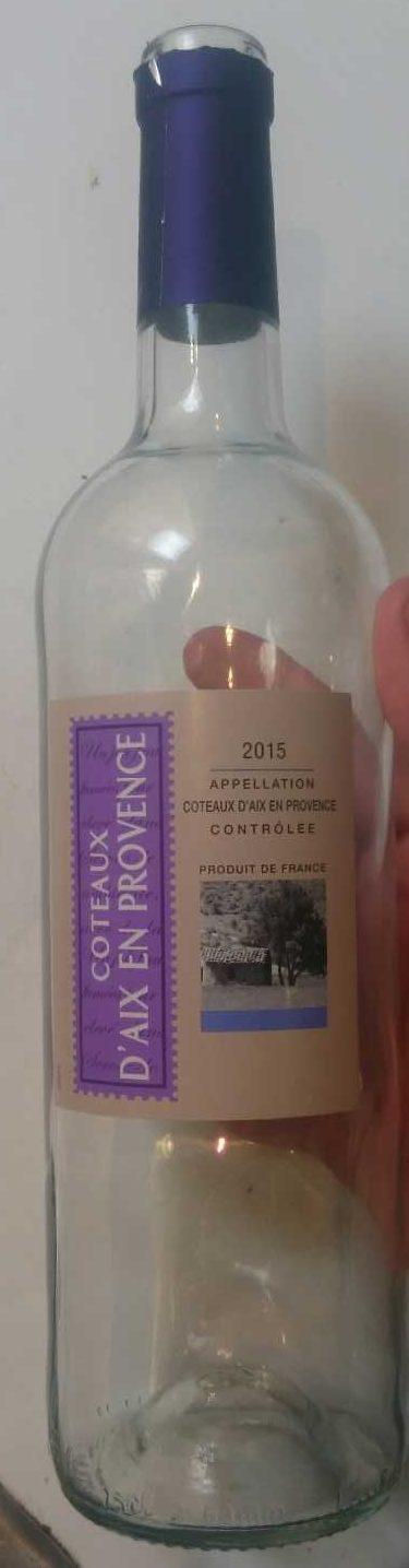 Côteaux d'Aix en Provence 2015 - Product - fr