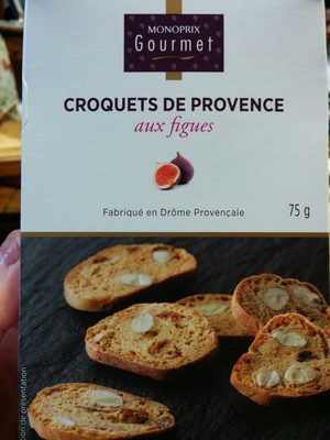 Croquets de Provence aux figues - Product