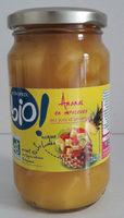 Ananas en morceaux au jus d'ananas, certifié AB - Produit - fr