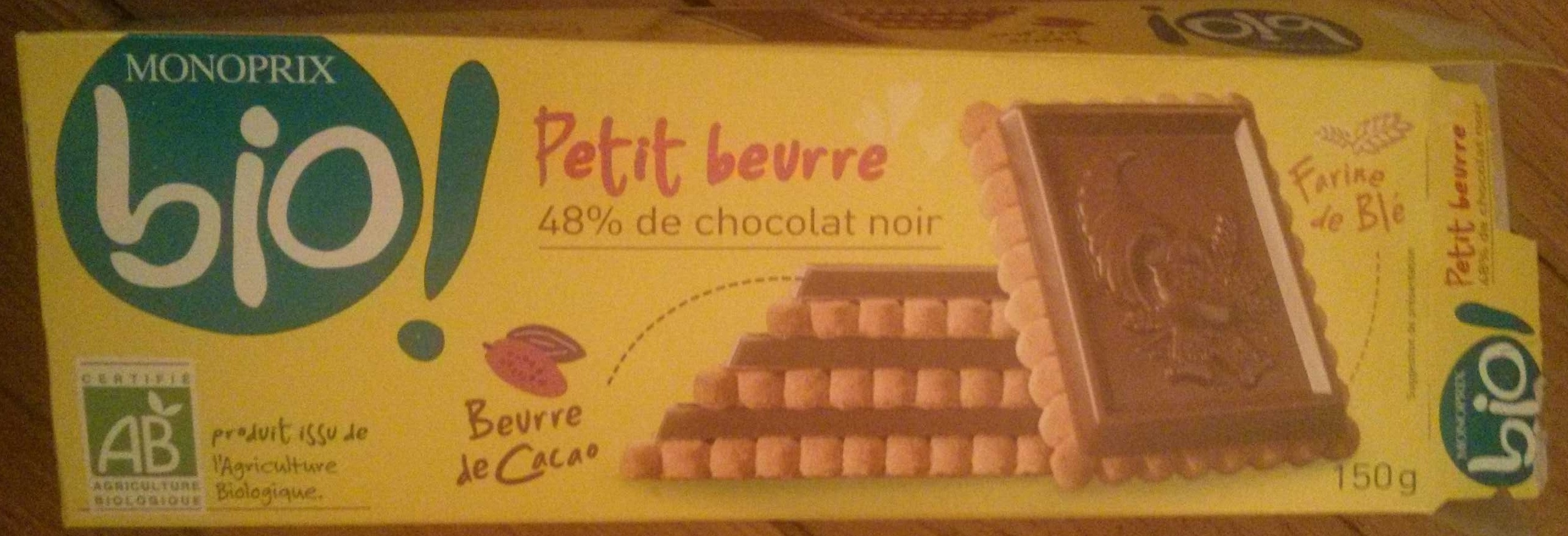Petit Beurre 48 % de Chocolat Noir - Product