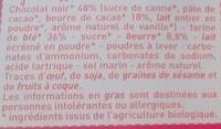 Petit Beurre 48 % de Chocolat Noir - Ingrediënten