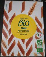 Penne au blé intégral Bio - Produit - fr