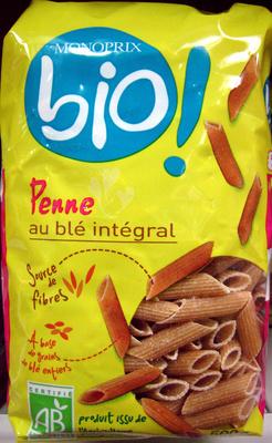 Penne au blé intégral Bio - Product