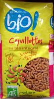 Coquillettes au blé intégral Bio - Produit - fr