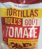 Tortillas Roll's goût tomate - Product