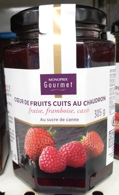 Cœur de fruitd cuits au chaudron - Product