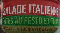 Salade Italienne (Pâtes au pesto et Thon) - Produit - fr