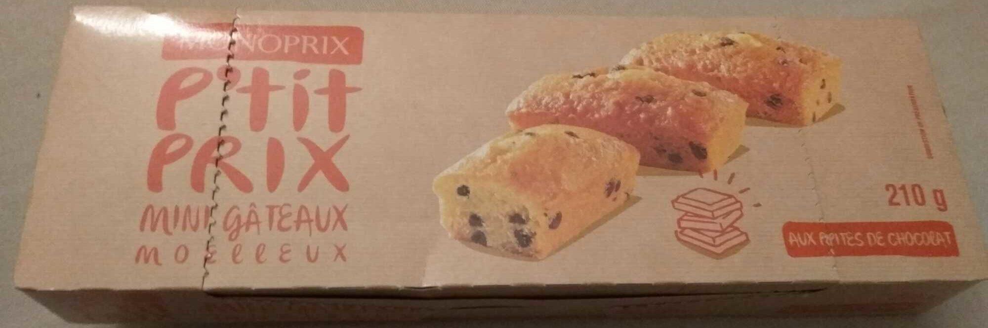 P'tit Prix Mini gâteaux moelleux - Product - fr