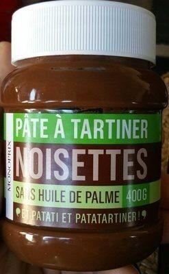 Pâte à tartiner sans huile de palme - Prodotto - fr