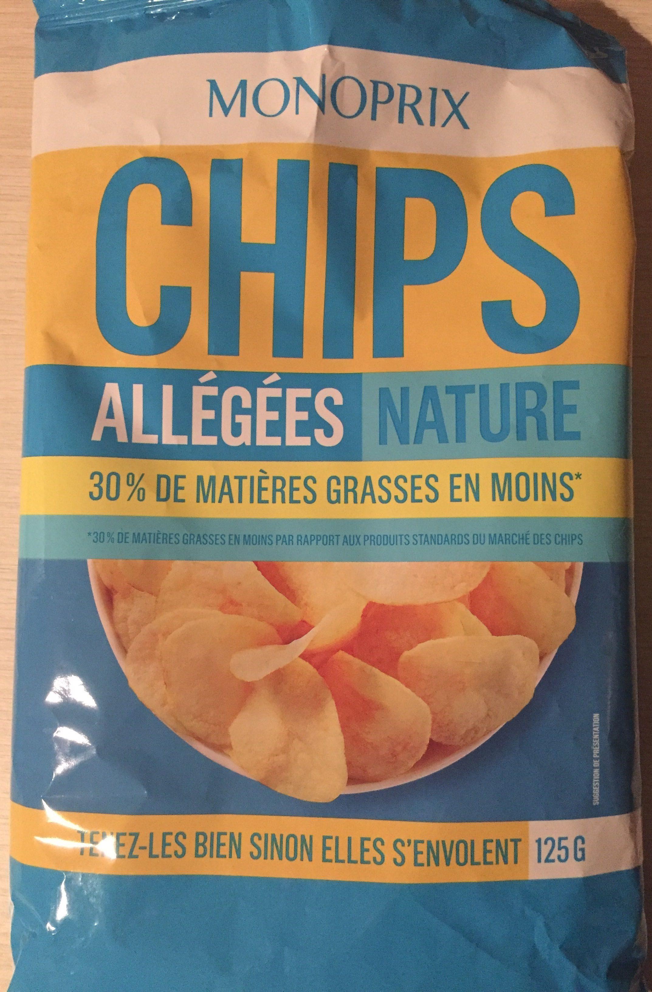 Chips allégées nature - Product