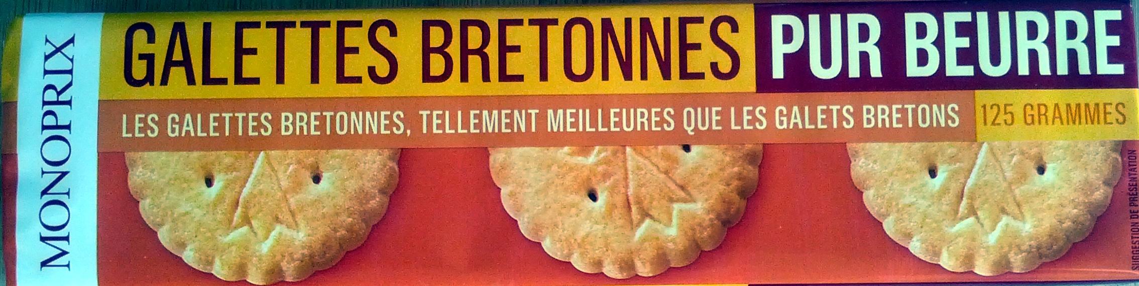 Galettes bretonnes pur beurre - 产品 - fr
