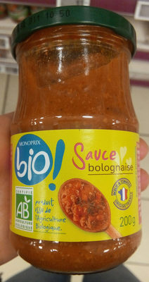 Sauce pour pâtes - Bolognaise - Producto