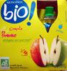 Compote de pomme allégée en sucres Bio - Product
