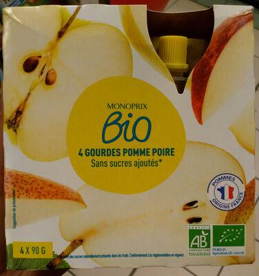 Compote Pomme-poire Bio Monoprix - Product - fr