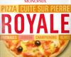 Pizza Cuite sur Pierre (Royale : Fromages, Jambon, Champignons, Olives) - Produit