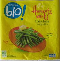 Haricots verts très fins surgelés Bio - Product