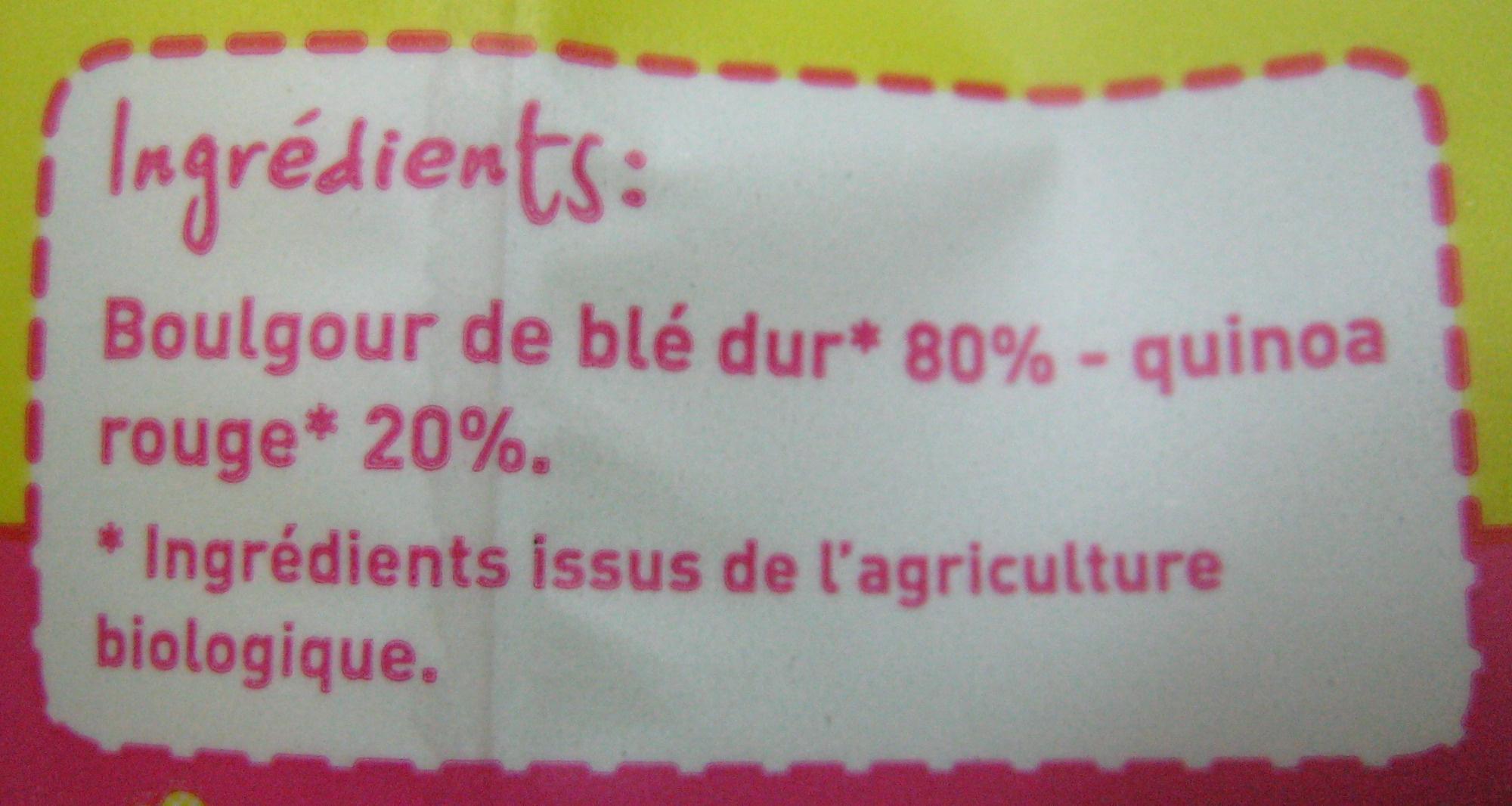 Mélange quinoa boulgour Bio Monoprix - Ingredienti - fr