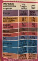 Mélange quinoa boulgour Bio Monoprix - Valori nutrizionali - fr