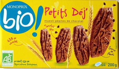Petits Déj' muesli pépites de chocolat - Product - fr